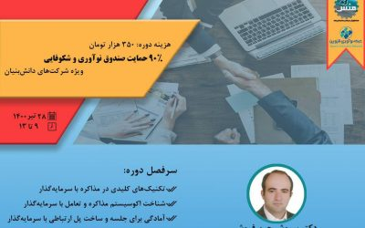 شست وبیناری روشهای کاربردی مذاکره با سرمایهگذار