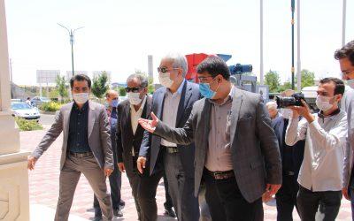 تصاویر سفر دکتر سورنا ستاری به استان قزوین